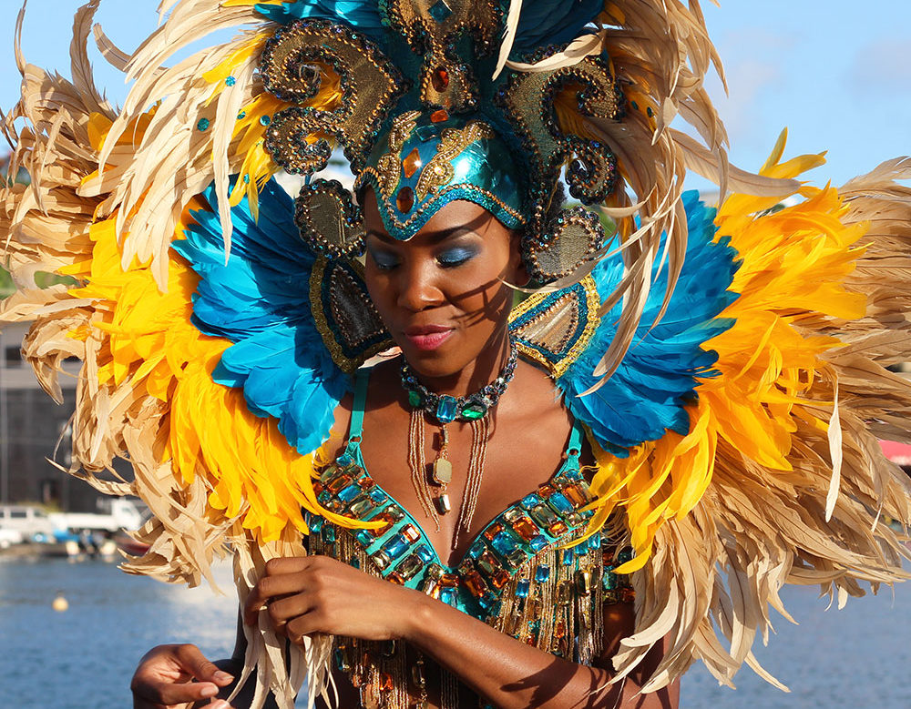 Msy.Chrissy in Carnival Costume
