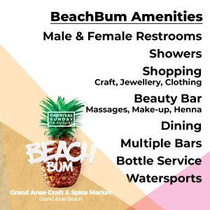 BeachBum-Amenities - Carnival Sunday in Grenada Carnival